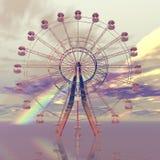 Giant wheel. Digital visualization of a giant wheel Stock Image