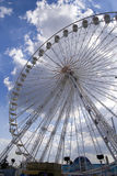 Giant Wheel 3. A giant whell attraction in a park in Paris Royalty Free Stock Photo