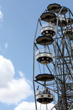 Giant wheel on amusement park Stock Image