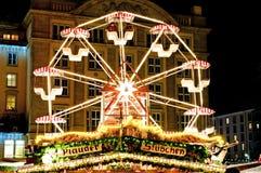 Giant Wheel at Christmas Market royalty free stock image