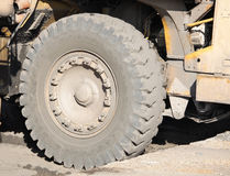 Giant wheel of a coal dumper Royalty Free Stock Photos
