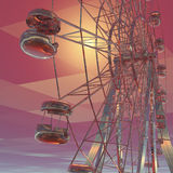 Giant wheel Stock Photography