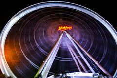 The giant ferris wheel Royalty Free Stock Images