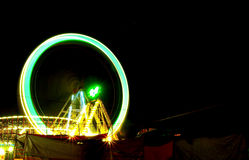 The Giant wheel in full colors Stock Image