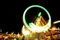 The Giant wheel in full colors Royalty Free Stock Photo
