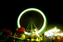 The Giant wheel in full colors Royalty Free Stock Images
