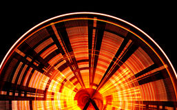 Giant Wheel at Night Royalty Free Stock Images