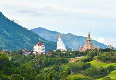 Giant white buddha Stock Image
