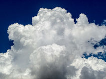 Giant white cloud Stock Photography