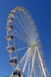 Giant white ferris wheel at Southbank Parkland Royalty Free Stock Photography