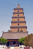 Giant Wild Goose Pagoda Stock Images
