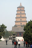 Giant Wild Goose Pagoda Royalty Free Stock Images