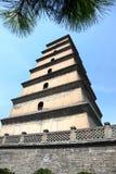 Giant Wild Goose Pagoda, China, Xian Stock Images