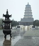 Giant Wild Goose Pagoda Royalty Free Stock Photography