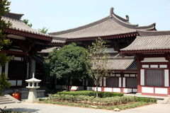 Giant Wild Goose Pagoda,  traditional Architecture of China,  Xi Royalty Free Stock Photography