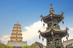 Giant Wild Goose Pagoda, Xian Stock Photography