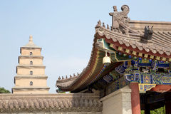 Giant Wild Goose Pagoda, Xian Royalty Free Stock Photos