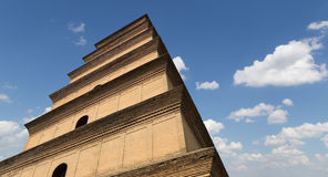 Giant Wild Goose Pagoda, Xian, China Royalty Free Stock Photos