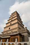 Giant Wild Goose Pagoda, Xian, China Stock Photography