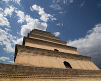Giant Wild Goose Pagoda, Xian, China Stock Images