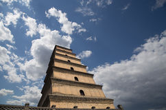 Giant Wild Goose Pagoda. Xian,Shaanxi province, China Royalty Free Stock Image