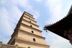 Giant Wild Goose Pagoda, Xian (Sian, Xi'an), China Royalty Free Stock Images
