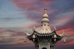 Giant Wild Goose Pagoda, Xian (Sian, Xi'an), Shaanxi province, China royalty free stock photo