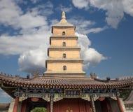 Giant Wild Goose Pagoda. Xian (Sian, Xi'an),Shaanxi province, China Stock Images