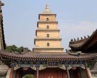 Giant Wild Goose Pagoda. Xian (Sian, Xi'an),Shaanxi province, China Stock Photo