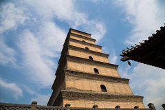 Giant Wild Goose Pagoda. Xian (Sian, Xi'an),Shaanxi province, China Stock Photography