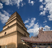 Giant Wild Goose Pagoda. Xian (Sian, Xi'an),Shaanxi province, China Royalty Free Stock Photos