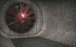 Giant Wind Tunnel Stock Photography