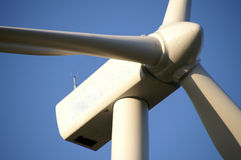 Giant wind turbine Royalty Free Stock Photo