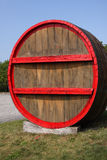 Giant Wine Barrel Royalty Free Stock Photography