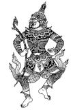 Giants Анджел stripes Таиланд Стоковое фото RF
