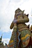 Giants в виске Phra Kaew Стоковая Фотография RF
