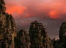 Giants of Angkor Royalty Free Stock Image