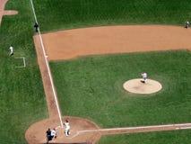 Giants Barry Bonds se coloca en rectángulo de talud imagenes de archivo