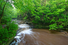 Giants Bathttub Matthiessen State Park Royalty Free Stock Photo