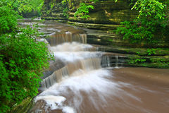 Giants Bathttub Matthiessen State Park Stock Photos