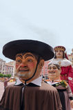 Giants and Big Heads Burgos Stock Photography