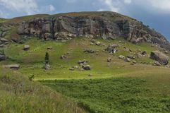 Giants Castle KwaZulu-Natal nature reserve Royalty Free Stock Image