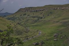 Giants Castle KwaZulu-Natal nature reserve Stock Image