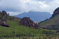 Giants Castle KwaZulu-Natal nature reserve Royalty Free Stock Images