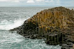 The Giants Causeway Royalty Free Stock Photos