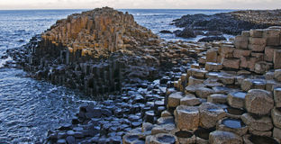Giants Causeway. The world famous Giants Causeway in Northern Ireland Royalty Free Stock Photo