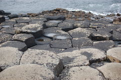 Giants Causeway. In Northern Ireland stock photography