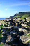 Giants Causeway. Irelands giants causeway close up. hexagon rocks on the coast. taken september 07 Stock Photography