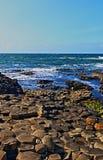 Giants Causeway Atlantic Ocean View Stock Photography