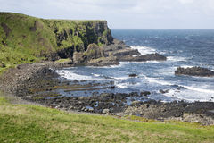 Giants Causeway Coast, County; Antrim Stock Photography